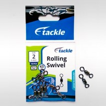 E Tackle Rolling Swivel